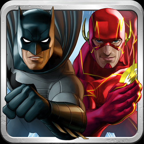 Batman & The Flash Hero Run App